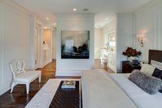 Hinsdale Greek Revival - eclectic - bedroom - chicago - Buckingham Interiors + Design LLC
