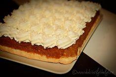 prajitura de casa cu mere si frisca Sugar, Desserts, Honey, Food, Recipies, Tailgate Desserts, Deserts, Essen, Postres