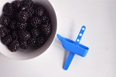 Banana-Blackberry Yogurt Popsicles