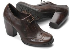 born patrice in cognac burnished $115. with boyfriend jeans or skinny ankle pants.