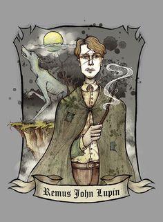 Remus John Lupin by Lily--Lu