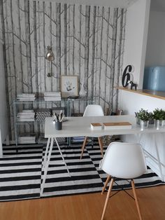 Simple Question de style Un bureau chez soi pour travailler zen PLANETE DECO a homes