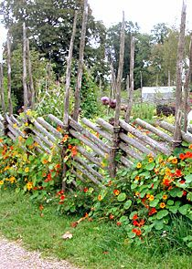 Gärdesgård - type of fencing often seen in Sweden, I think this would work perfectly for my farm.