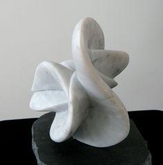 Thea Bonnecroy - Cigno Abstract Sculpture, Sculpture Art, Stone Sculptures, Slate Stone, Soapstone, 3d Projects, Natural Forms, Carving, Contemporary