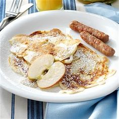 32 Awesome Apple Breakfasts - Get a head start on your apple a day with breakfast ideas for fluffy puff pancakes, savory bread pudding, cinnamon-y baked oatmeal and more. These apple recipes make fall mornings feel so much happier.