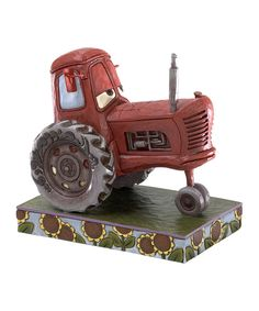 Look at this Jim Shore Pixar Cars Tractor Figurine on #zulily today!