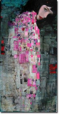 Richard Burlet Le charme   Richard Burlet (1957-Present) Considered an abstract-figurative artist, Richard Burlet creates paintings born of an inspiration that is French by inclination and Viennese by influence. The complex imagery of Burlet's figurative paintings pays homage to a tradition in art that reigned supreme in Vienna in the late 1800s. Birth 1957 Lived/Active France