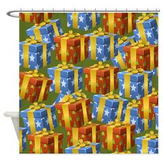 Shop unique Shower Curtains from CafePress. Great designs on professionally printed shower curtains. Holiday Shower Curtains, Shower Gifts, Special Day, Halloween, Painting, Design, Art, Art Background, Painting Art