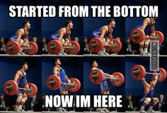 Mastering olympic lifts is my main goal in the gym right now