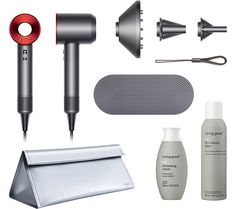 Dyson Supersonic Hair Dryer with Living Proof and Travel Bag — QVC.com