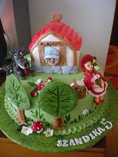 Výsledek obrázku pro dort červená karkulka