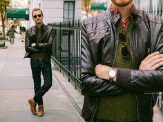 Forever 21 Quilted Faux Leather, Uniqlo Lambswool, J. Crew Arrow Print, American Eagle Jeans, Ray Ban Clubmaster, Asos Grandad Watch, J. Cre...