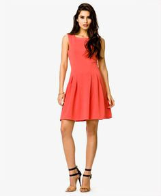 Pleated A-Line Dress | FOREVER 21 - 2000049503