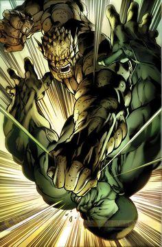 The Hulk #3 interior art by Mark Bagley *
