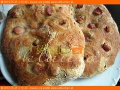 Podáva sa k Skalickému šumajstrovi . :) - My site Bread Recipes, Cooking Recipes, Bread And Pastries, Russian Recipes, Aesthetic Food, Ciabatta, Cooker, Food And Drink, Pie