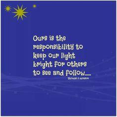Let your light so shine. #Lighting #LightingDoctor #Quotes #Saying www.lightingdoctor.ca