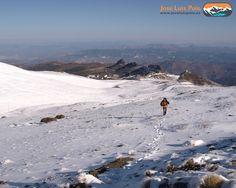 De camino al #veleta #sierranevada #hiking
