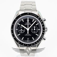 #Omega #Speedmaster 44mm Automatic CAL. 9300 311.30.44.51.01.002 - #OCWatchCompany #WatchStore #WalnutCreek