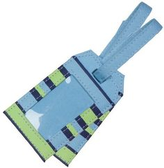 Kids Preferred TravelKit: Stripped Luggage Tag by Kids Preferred. $9.99. From the Manufacturer                This blue and green striped Luggage Tag will keep track of your TrayKit or any other bag you for that matter. The Luggage Tags are durable, bright, and surface washable.                                    Product Description                Take it, Pack it, Strap it! TrayKit is the all in one kid's travel carry-on backpack and play-tray solution-a kid's backpac...
