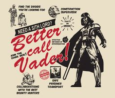 Vader Better Call Saul Parody T-Shirts