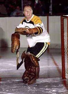 bob perreault Boston Bruins Goalies, Bruins Hockey, Hockey Goalie, Hockey Teams, Hockey Players, Ice Hockey, Nhl, Goalie Mask, Boston Sports