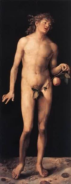 Albrecht Dürer (1471-1528) | Adam, 1507, Museo del Prado, Madrid