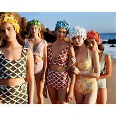 Sonia, Elsa, Birgit, Elle and Ellen. Miu Miu, Spring/Summer, 2017. Point Dume, California.  Styling: Katie Grand Art Direction: Giovanni Bianco Hair: Anthony Turner Makeup: Mark Carrasquillo Casting: Anita Bitton Props: Stefan Beckman @miumiu @kegrand @zambishot @gb65 @kevintekinel @anthonyturnerhair @markcarrasquillo @bitton @stefanbeckman @ellefanning @itsnotsonia @birgitkos @elsa.brisinger @ellenghr #suddenlynextsummer #miumiu #alasdairmclellan #miumiueditorial #miumiucampaign