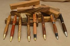 Pens can be crafted from a variety of wood types. Description from docswoodturning.com. I searched for this on bing.com/images