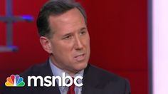 Maddow, Rick Santorum Go Head To Head On Same-Sex Marriage, SCOTUS | msnbc