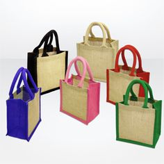 The best-selling Green & Good WELLS Tiny Jute Gift bag! Great for filling with #promotional #giveaways! #eco #Allwag