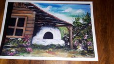 Painting, Artists, Houses, Painting Art, Paintings, Painted Canvas, Drawings