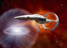 """""""Star Trek"""" Starfleet starship pictures and gifs. Most of the fan-designs on here are not my own. Star Trek Fleet, Star Trek Vi, Star Trek Ships, Star Wars, Spaceship Art, Spaceship Design, Starfleet Ships, Alien Ship, Starship Concept"""