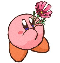 Flower ^-^, Why, thx u, Kirby!!!