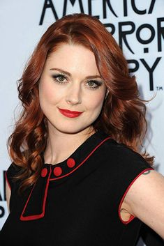 Alexandra Breckenridge at American Horror Story Special Screening in Hollywood Jessie Anderson, Alexandra Breckenridge, Spanish Actress, Just Beauty, Beautiful Redhead, Female Actresses, Celebs, Celebrities, American Horror Story