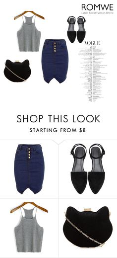 """""""Romwe"""" by ermina-camdzic ❤ liked on Polyvore featuring New Look and romwe"""