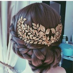 Gold Hair Piece