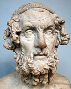 Homer (c. ) Considered the greatest of the ancient Greek poets. Homer wrote two epic poems, The Iliad and The Odyssey. His work was hugely influential in shaping Greek culture and literature. History Of Literature, Greek History, Ancient History, English Literature, Art History, Heinrich Schliemann, Homer Odyssey, Trojan War, Greek Language