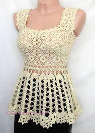Resultado de imagem para blusinhas de croche verao