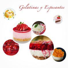 Gelatinas y espesantes - Tipos y usos en la cocina. amantesdelacocina