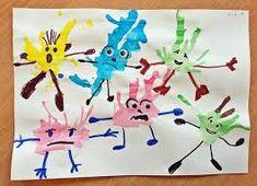 Výsledek obrázku pro zabawy na śniegu collage prace dzieci