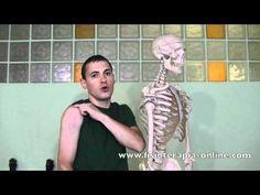 Auto-masaje para la tendinitis de supraespinoso, infraespinoso o manguito de los rotadores.