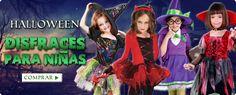 Disfraces de Halloween para niñas. www.esfantastica.com