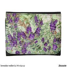 lavendar wallet