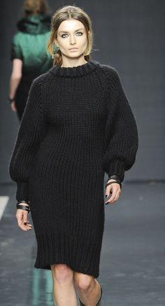 FuzzyFindings- big sweater, big sleeves.