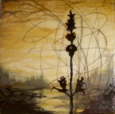 Alicia Tormey. Encaustic