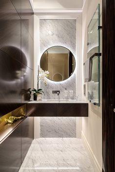 classic style apartment in ospedaletti evoking the italian riviera httpfreshome small luxury bathroomsmodern