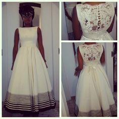 the beautiful Nolundi African Traditional Wedding, African Traditional Dresses, Traditional Wedding Dresses, Traditional Fashion, Traditional Outfits, African Wedding Attire, African Attire, African Wear, African Dress