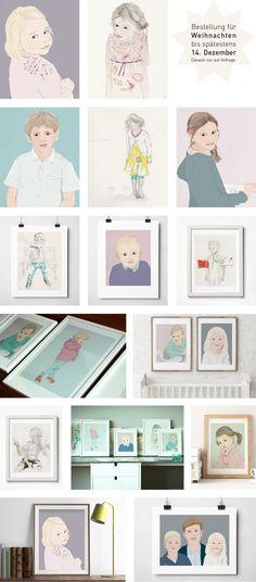 Illulia   Zeichnungen nach Deiner Fotovorlage