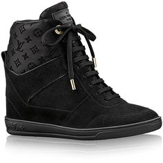 21e04be0b1f78 LOUIS VUITTON SNEAKER COMPENSÉ MILLENIUM (€680) ❤ liked on Polyvore  featuring shoes,