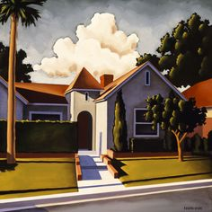 In a Foothill by Kenton Nelson